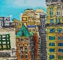 N.Y.C. Skyline by John Woolley, age 11, Temecula, California
