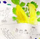 Turnip, Illustration to Tolstoy's Fairy Tale by Melissa, age 4.5, San Jose, California