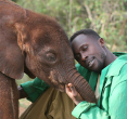 Suguta with Benson by Dr. Dame Daphne Sheldrick